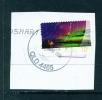 AUSTRALIA  -  2014  Southern Lights  70c  Self Adhesive  Used CDS On Piece - 2010-... Elizabeth II