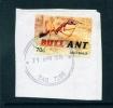 AUSTRALIA  -  2014  Creatures That Sting  70c  Self Adhesive  Used CDS On Piece - 2010-... Elizabeth II