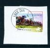 AUSTRALIA  -  2014  Horse Racing  70c  Self Adhesive  Used CDS On Piece - 2010-... Elizabeth II