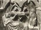 Cartolina GEBURT CHRISTI, DETAIL AUS DEM BRONZETAUFBECKEN DES MEISTERS ECKEHARD VON WOORMS - OTTIMA L67 - Sculture