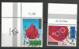 1994, Aland, 86/87,  Europa: Entdeckungen Und Erfindungen. Used First Day, - Aland