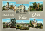 """CP Saluti Dalla VALLE ORBA """" OVADA , MOLARE , CASTELLETTO D'ORBA , SILVANO D'ORBA , CAPRIATA D'ORBA """" - Unclassified"""