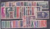 1938 Année Complète - Timbres Neufs** LUXE