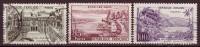 FRANCE - 1959 - YT  N° 1192 / 1194  - Oblitérés - Série Touristique - Usati