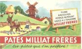 BUVARD   PATES MILLIART FRERES   Les Pates Que L'on Prefere     ..... - Alimentaire