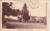 Thématiques 87 Haute Vienne Blanzac Place Principale Ecrite Timbrée - France