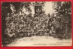 86 LENCLOITRE - LES BIGOPHONEUX - Musiciens En Habits D'Arlequin - FANFARE - Drapeau UNION MUSICALE - R/V - Lencloitre