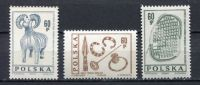 Poland 1966 Archaeology Sciences Historical Items History Sheep Goat 3v Stamps MNH Scott# 1461-1463 - Archaeology