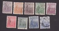 Argentina, Scott #189-197, Used, Agriculture, Issued 1912 - Usati