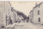 Cpa-63-radan-animée-grand'rue -edi Deluzarche Gazet - Autres Communes