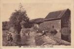 Thématiques 87 Haute Vienne Laurière Coteplane Le Moulin Pêcheur A La Ligne Sur Deversoir Coquin - France