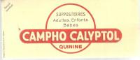 BUVARD CAMPHO CALYPTOL   Suppositoires  Adultes, Enfants, Bebe   Quinine  ............. - Produits Pharmaceutiques