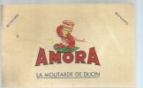 BUVARD         AMORA   La Moutarde De DIJON   ............. - Alimentaire