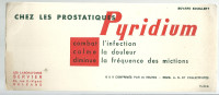 BUVARD   ORLEANS  Les Laboratoires SERVIER  Chez Les Prostatiques  PYRIDIUM  Conbat L'infection; Calme La  ............. - Produits Pharmaceutiques