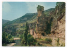 SAINTE ENIMIE--POUGNADOIRES-Gorges Du Tarn,la Tour Eiffel ,cpsm 15 X 10 N° 3298 éd Yvon - Other Municipalities
