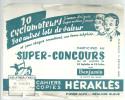 BUVARD   LA FERE   CAHIERS COPIES  HERAKLES   Super Concours..... - Papeterie