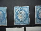 N° 60 A  PLANCHAGE /    CASE 7 B 2 + ANNEAU LUNE - 1871-1875 Ceres