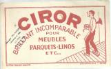 BUVARD CIROR  Brillant Incomparable Pour Meubles Parquets Linos Etc.... - Produits Ménagers