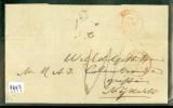 NEDERLAND * POSTHISTORIE * HANDGESCHREVEN BRIEF Uit 1868 Van ARNHEM Naar NIJKERK (9997) - Nederland