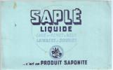 BUVARD SAPLE  Liquide  C'est Un Produit SAPONITE   ..... - Produits Ménagers