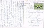 15301. Postal LISBOA (Portugal) 1962. Claustros Jeronimos De LISBOA - 1910-... República