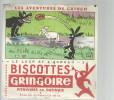 BUVARD   PITHIVIERS En GATINAIS  BISCOTTES  GRINGOIRE  Le Loup Et L'agneau 2    ..... - Biscottes