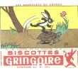 BUVARD   PITHIVIERS En GATINAIS  BISCOTTES  GRINGOIRE  Le Lievre Et La Tortue  2    ..... - Biscottes