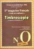 Timbroscopie N° 0 Une Légère Pliure En Bas à Droite - Magazines