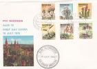 Rhodesia 1975 Aloe FDC - Great Britain (former Colonies & Protectorates)
