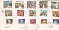 Rhodesia 1978 Definitives FDC - Grande-Bretagne (ex-colonies & Protectorats)