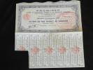 Obligation 500 Francs PROMIREP Societe De Prospection Minieres Et De Recherches Petrolieres Siege Social à Paris - Pétrole