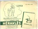BUVARD    CAHIERS &  COPIES  HERAKLES  1er EMPIRE  ..... - Papeterie