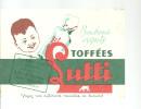 BUVARD  TOFFEES  LUTTI   Bonbons Exquis - Sucreries & Gâteaux