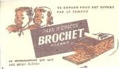 BUVARD  Pain D'Epices BROCHET Freres  La Gourmandise Qui Fait De Bons Eleves - Pain D'épices