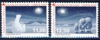 #Greenland 2015. Christmas Stamps. 2 Items MNH(**) - Groenland