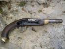 épave De Pistolet 1816 A Silex Sans Platine A Restaurer - Decorative Weapons