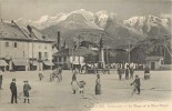 74 Sallanches   La Place Et Le Mont Blanc - Sallanches