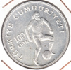 TURQUIA 1982. 100 LIRA.CAMPEONATO MUNDO FUTBOL ESPAÑA'82 NUEVA SIN CIRCULAR  . CN4391 - Turquia