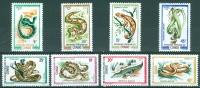 Congo 1971 Reptiles MNH** - Lot. 3847 - Congo - Brazzaville