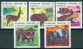 Congo 1976 Animals MNH** - Lot. 3848 - Congo - Brazzaville