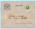 BAYERN - DEUTSCHES REICH Brief Cover - Karl Peschke Zweibrücken - Rheinpfalz -  Gewerkschaft Dorstfeld (32508) FFF - Bayern