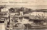 Lazio-civitavecchia Veduta Panorama Del Porto E Forte Michelangelo Primi 900 - Civitavecchia