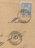CONSTANTINE Algérie Sur Enveloppe Au Type SAGE, LOZE Frères. - 1876-1898 Sage (Type II)