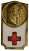 Spilla/Badge Con Smalti Croce Rossa (con Fascio) #C281 - Militari