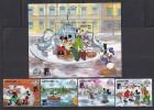 DISNEY - LESOTHO 1988- Yvert#780/83 H54 Precio Cat€16 - Disney