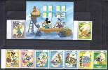 DISNEY -GAMBIA 1984  Yvert#201/09 H10 Precio Cat€17 - Disney