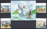 DISNEY -GRENADA GRENADINAS 1986-  Yvert#691/94 H117 Precio Cat€15.50 - Disney
