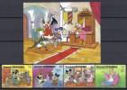 DISNEY -GRENADA GRENADINAS 1987-  Yvert#801/04 H139 Precio Cat€16.50 - Disney