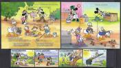 DISNEY -GRENADA GRENADINAS 1991-  Yvert#1232/35 H223/24 Precio Cat€23 - Disney