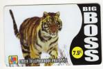 FRANCE CARTE TELEPHONIQUE BIGBOSS Petit Logo En Bas à Gauche Année 2005 LION - Prepaid Cards: Other